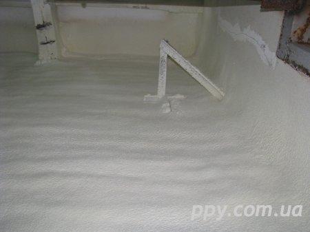 Термоизоляция пенополиуретаном помещения (Верес, Укршампиньон)