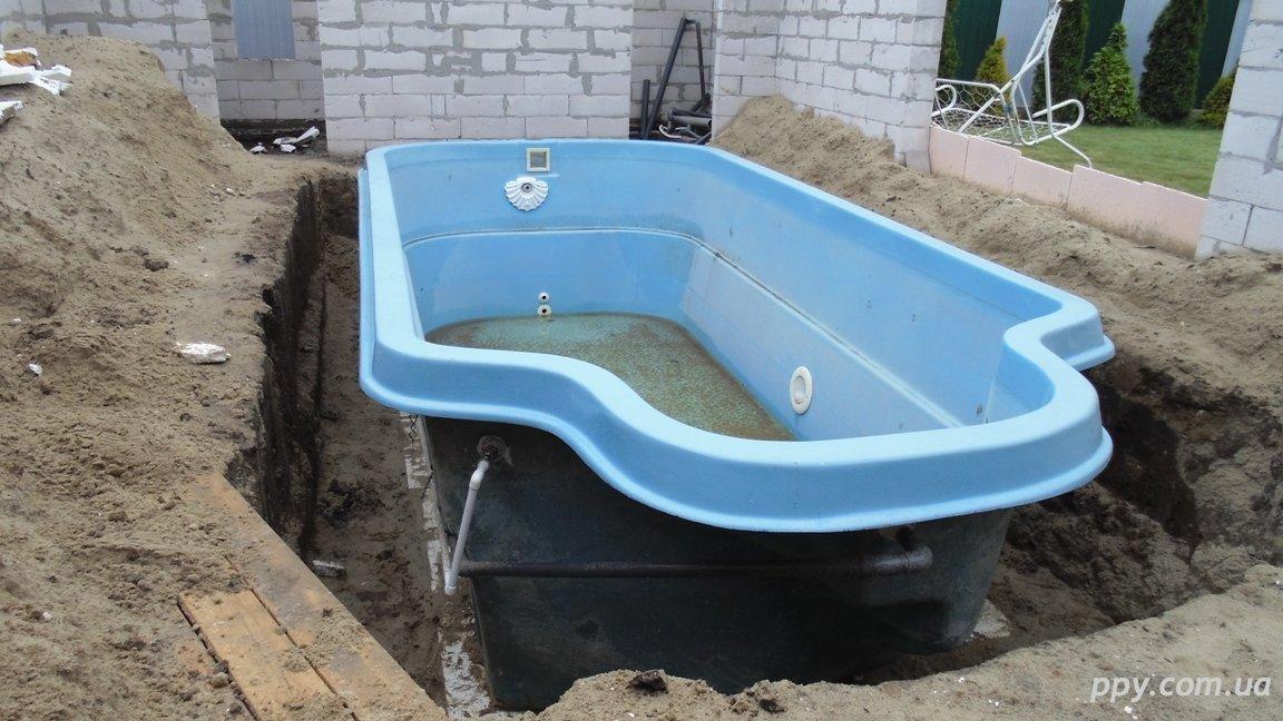 Утепление бассейна Винница