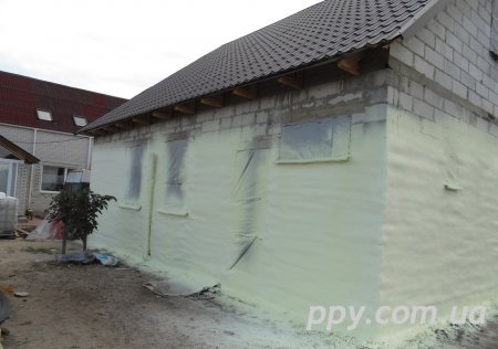 Утепление жилого дома Клавдиево