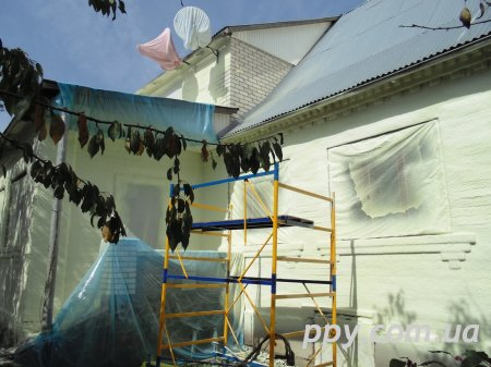 Утепление жилого дома Мархалевка
