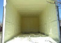 Термоизоляция ППУ грузового фургона DAF (5 тонн)